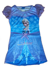 Disney Frozen Children Kids Girls Princess Elsa Dress Skirt Pajama Night Gown