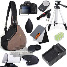 Caseman C10 Bag/LP-E8 Charger/WT-3110A Tripod/RC-6 Remote kit For Canon EOS 700D