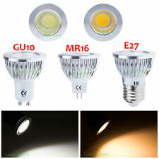 MR16 E27 GU10 6W 9W 12W Bright COB LED Dimmable Downlight Globe Bulbs Spotlight