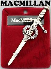 MACMILLAN CLAN CREST KILT PIN 130 CLAN NAMES AVAILABLE MADE IN SCOTLAND
