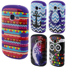 For Samsung Galaxy Discover S730G/ Centura S738C HYBRID Hard Silicone COVER CASE