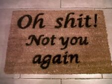 Personalised/Novelty Coir Doormat Funny-Unique House Warming/Wedding/Xmas Gift!