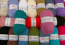 King Cole 100grm Big Value DK DK: 20 shades available