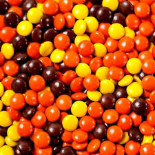 Bulk Reese's Pieces in Factory Sealed Bag 5-15-25 lbs peanut butter chocolate pb