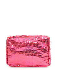 Sequin Small Cosmetic Case Make Up Travel Bag Toiletries Girls Cheer Dance Team