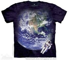 THE MOUNTAIN ASTRO EARTH ASTRONAUT OUTER SPACE WALK YOUTH KIDS TEE T SHIRT S-XL