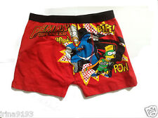 Next Boy Simpsons Trunks Red Size 11-12yrs