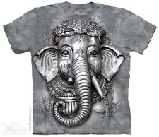 THE MOUNTAIN BIG FACE GANESH INDIA HINDU ELEPHANT YOUTH KIDS TEE T SHIRT S-XL