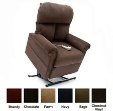 Chocolate Easy Comfort LC-100 Power Electric Lift Chair Recliner  Heat & Massage