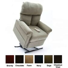 Sage Green Easy Comfort LC-100 Power Electric Lift Chair Recliner Heat & Massage