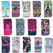 Stylish Cartoon Wallet Leather Case Cover Stand For Samsung Galaxy S4 Mini i9190