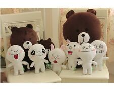 Android Apple LINE APP Brown Bear And  Rabbit Doll Toy