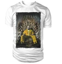 Breaking Bad vs Game Of Thrones T Shirt S M L XL Tee Heisenberg Walter White Lol
