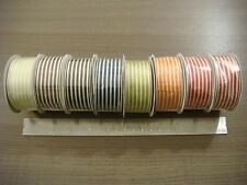 "NEW Stampin' Up! 1 1/4"" Striped Grosgrain Ribbon, 10 Yard Spool (Retired Item)"
