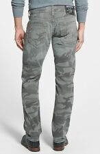 True Religion Brand Jeans Geno Military Camo Print Pants Camouflage Trousers New