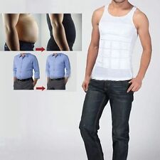Men Body Slimming Tummy Shaper Belly Underwear shapewear Waist Girdle Shirt M2