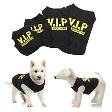 Summer VIP Clothing Dog Puppy Small Pet Clothes T Shirt Vest Jumper Apparel Coat