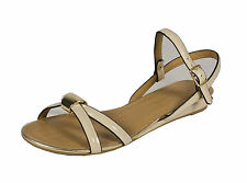 Norcia! City Classified Open Toe Strappy Heel Sandal Nude Patent Leatherette