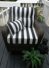 black white chair cushions | eBay