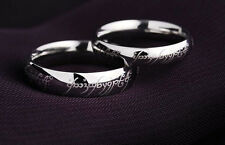 The Lord of the Rings Soild 925 Sterling Silver Magical Love Wedding Ring gift