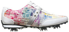 Ladies FootJoy Lopro Golf Shoes 2014 CLOSEOUT White/Mosaic 97159 New Womens