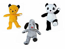 """Make your own Sooty, Sweep or Soo Bear / 15"""" Build a Furry Friend - No sew kit"""