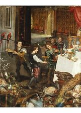 """FLEMISH SCHOOL """"Pages At A Banquet"""" BROWSE our shop! various SIZES available"""