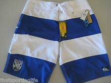 QUIKSILVER CANTERBURY BULLDOGS MENS NEW BOARD SHORTS SURF BOARDIES $90 now $60
