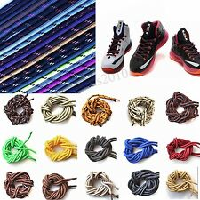 Round Rope Sneaker Shoelaces Bootlaces Shoestrings Trainer Sport Shoes Laces 48""