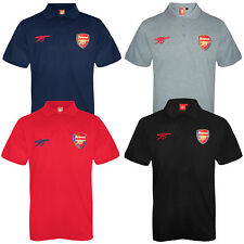 Arsenal FC Official Football Gift Mens Crest Polo Shirt (RRP £24.99!)