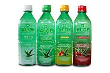 AloeCure Juice with Pulp, Aloe Vera Drink, Pack of 12