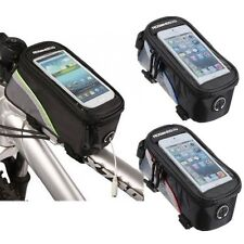 """Roswheel 4.8"""" Front Tube Bag Case Cycling Bicycle Bike Frame Pannier Cell Phone"""
