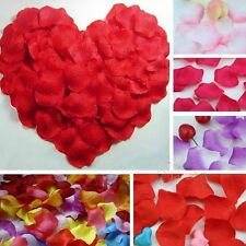 500pcs Silk Rose Petals Flower Leaves Wedding Party Table Confetti Decorations