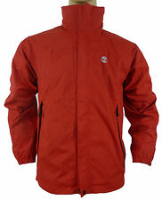 NEW Men's TIMBERLAND Jacket Blouse Red, high collar