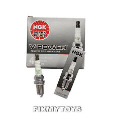 4pk NGK Spark Plugs BPR6ES #7131 for Agria Efco Jet Alko Lawn Mowers +More