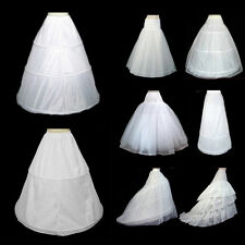 2016 Bridal Wedding Prom Dress Hoop Hoopless Petticoat Crinoline Underskirt lot