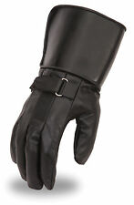 First MFG First Classics Men's Leather Gauntlet Gloves FI150GL