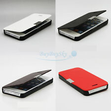 Magnetic Flip Leather Hard Skin Pouch Wallet Case Cover For iPhone 5S 5G
