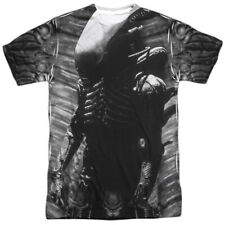 Alien Movie Creature Feature All Over Sublimation Poly Adult Shirt S-3XL