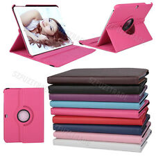 "Stand Rotating Leather Case Cover Pouch Skin For Samsung Galaxy Tab 4 10.1"" T530"