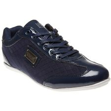 New Mens Henleys Blue Diamond Synthetic Trainers Lace Up