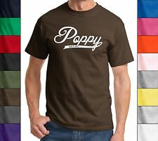 Poppy Since 2014 T Shirt New Gift Baby Holiday Gift  Fathers Day Gift Tee Shirt