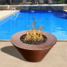 "HPC 32"" Copper Fire & Water Bowl Remote Electronic Ignition #MESA32W-HWI"