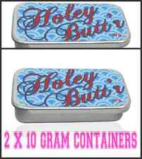 2-CONTAINERS-10g-Holey Butt'r Stretching Care-Ear Stretching Balm-Ear Stretching
