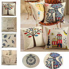 New Stylish Hold Cushion Cover Pillow Case Waist Pillow Cotton Pillowcase