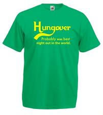 Hungover Probably the Best Night T-shirt Tee Tshirts in the world - Funny Joke