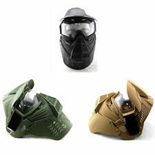 CS Game Game Hunting Paintball Mask Face guard with Goggles Protective gear