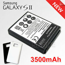 OZ Extended 3500 mAh Battery + Back Case Cover For Samsung Galaxy S2