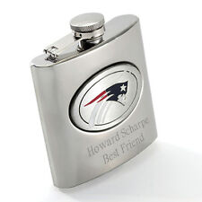 NFL Logo Football Sports Fan Stainless Steel Flask 8oz
