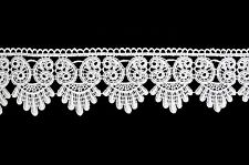 Unotrim 3 inches White or  Ivory Venice Lace Trim By Yardage